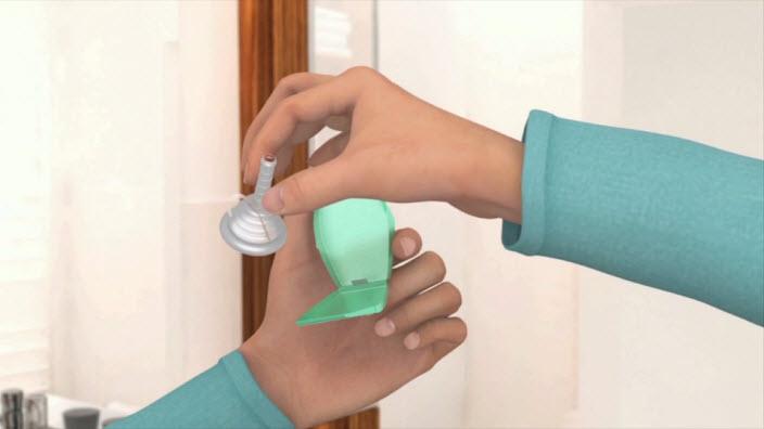 Usare il catetere esterno condom per incontinenza maschile