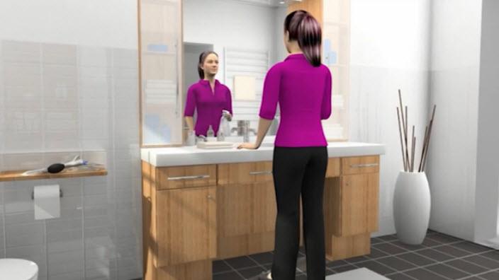 Come usare SpeediCath Compact Donna