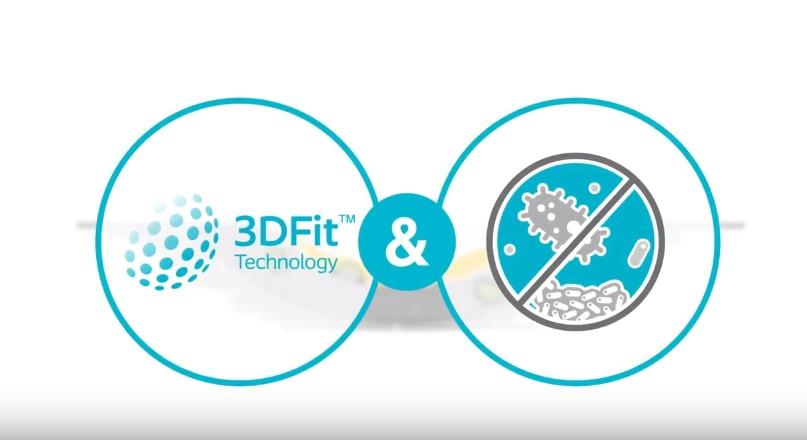 Scopri Biatain® Silicone Ag con Tecnologia 3DFit®