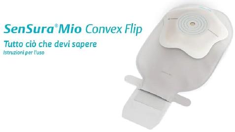 SenSura® Mio Convex Flip monopezzo aperto