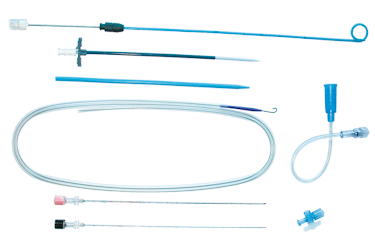 Kolibri® sets with J catheter